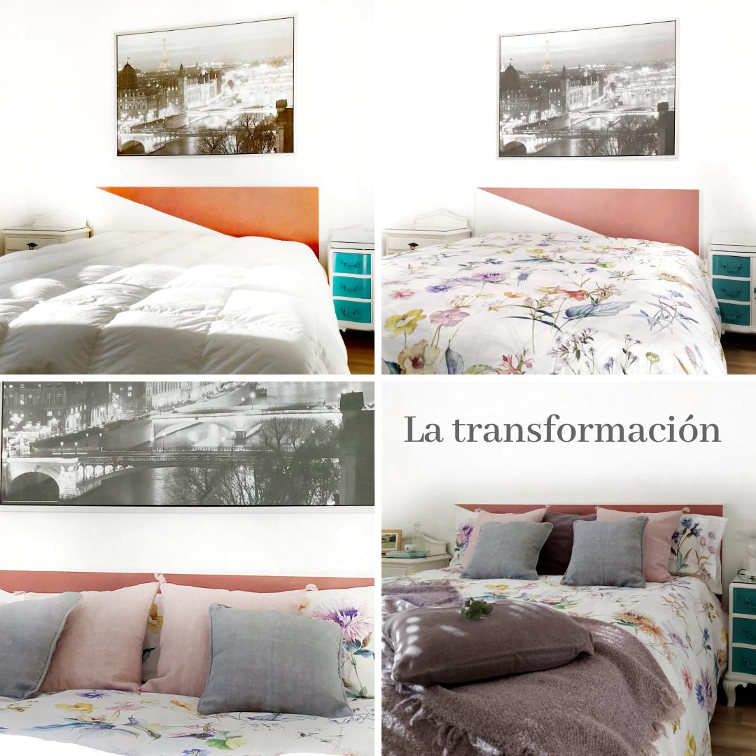 transformación de un dormitorio